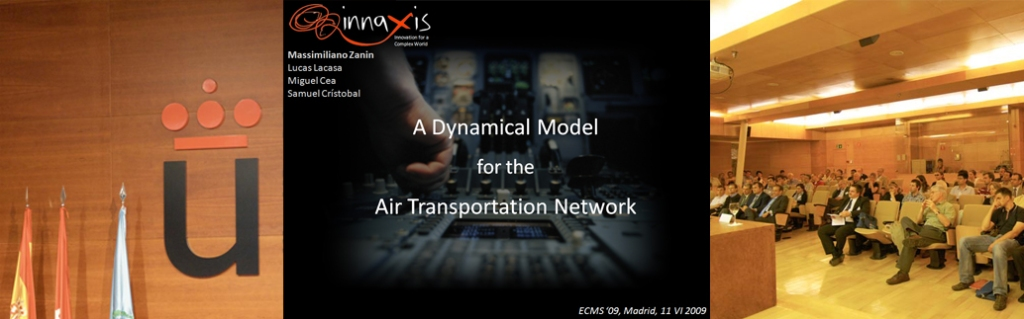 Dynamical Model for the Air Transport Network